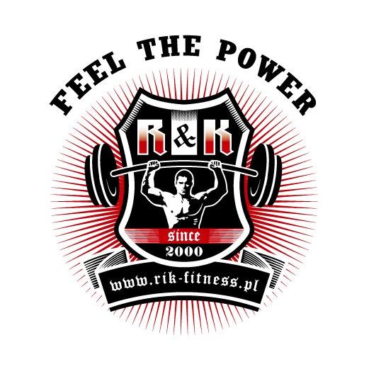 Logo białe RikFitness